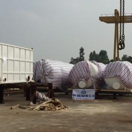 Packing and lashing, loading tại Hải Phòng